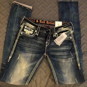 New Rock Revival Jeans Nancy Straight leg